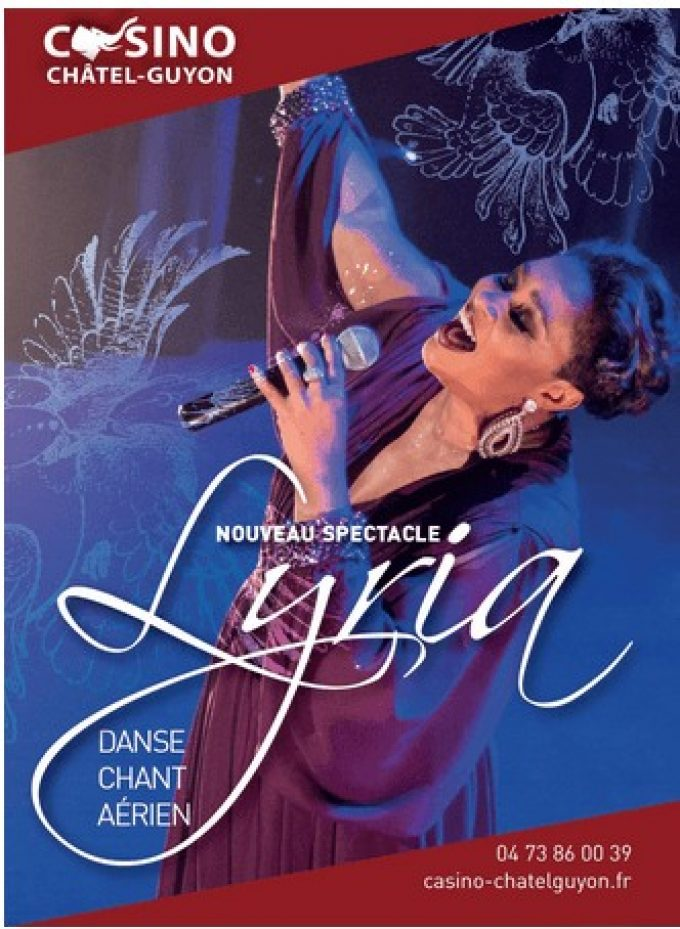 Bon Cadeau Spectacle Lyria Casino de Chatel