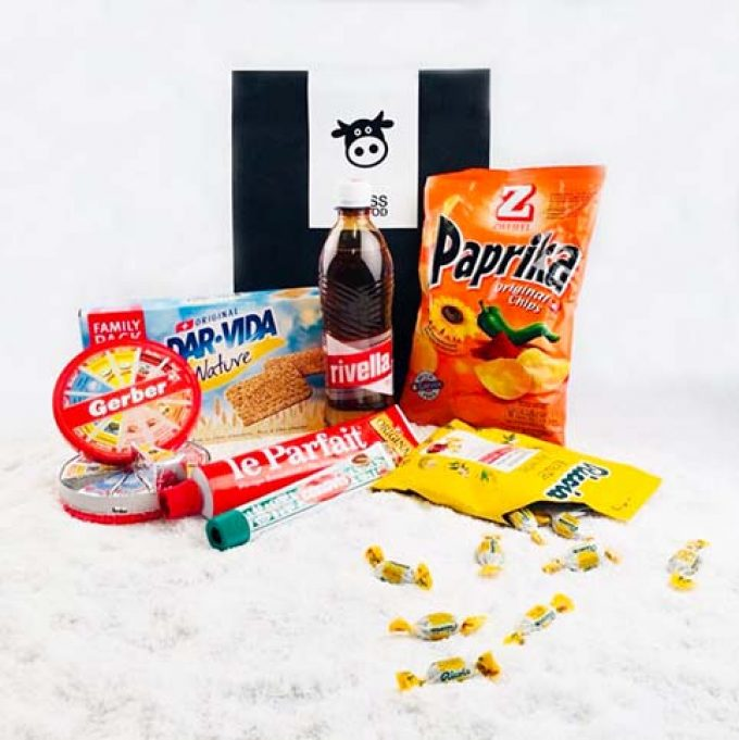 Box Cadeau Suisse SwissisGood snack