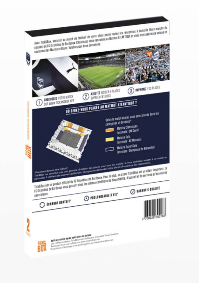 Carte Cadeau Girondins de Bordeaux box copie