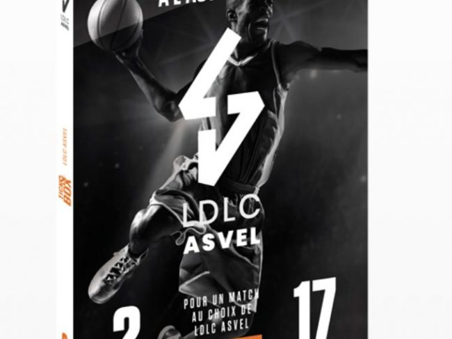 Carte Cadeau Match de Basket ASVEL