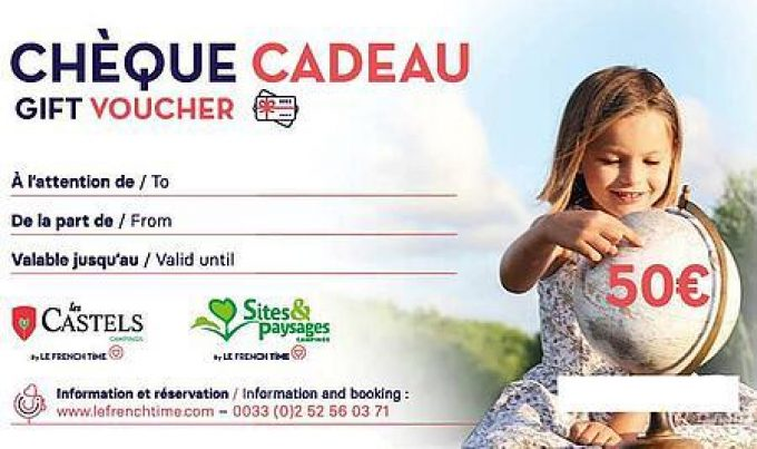 Cheque cadeau The French time