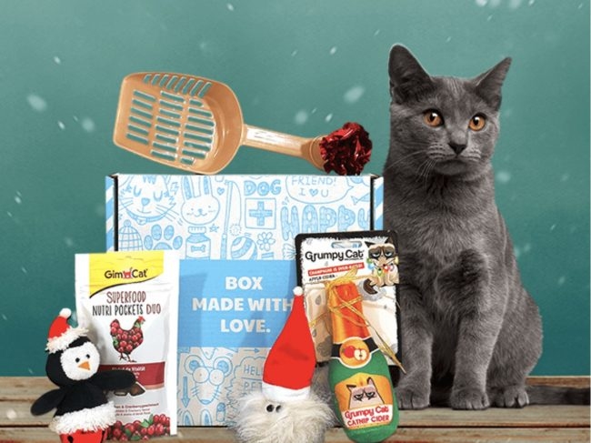 Coffret Cadeau Chat Miaoubox