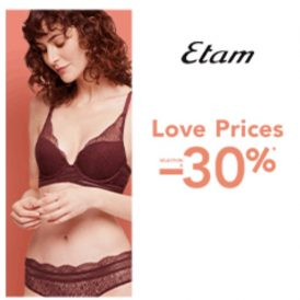 Etam réduction de 30%