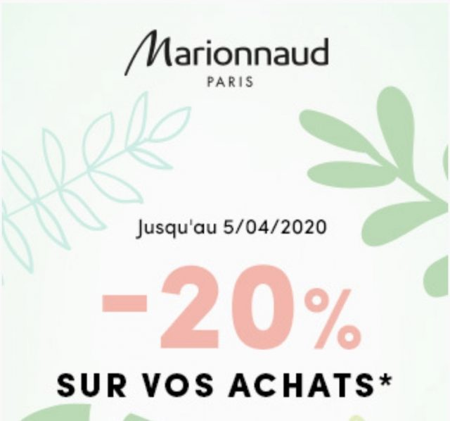 Promo Avril Marionnaud